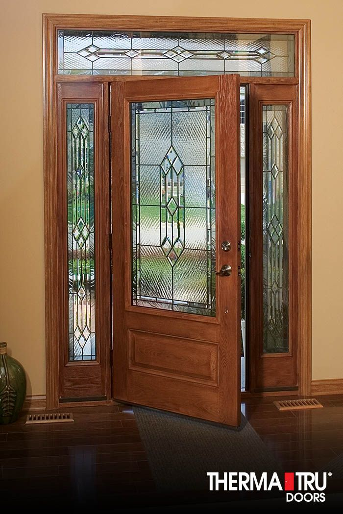 Gallery doors for Therma tru fiber classic mahogany price