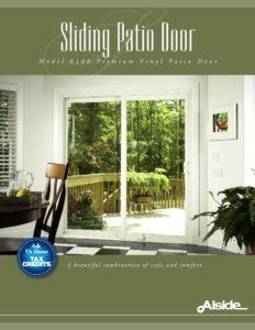 6100 Patio Door Front Page