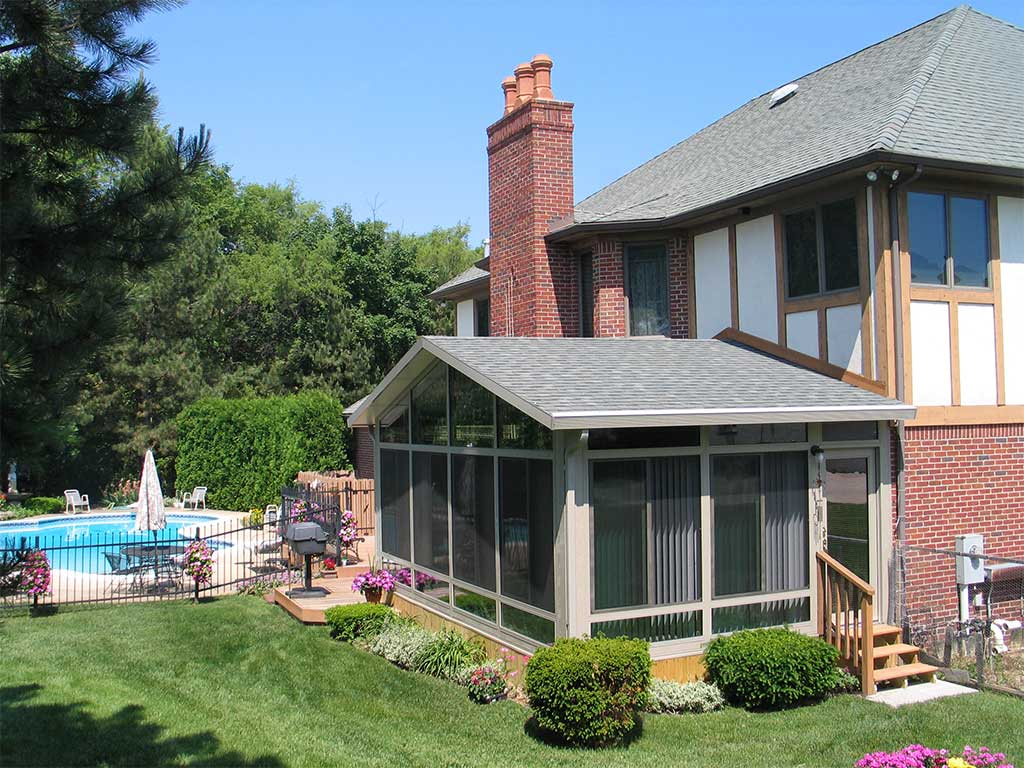 Sunrooms Denver Co House Siding Replacement Windows